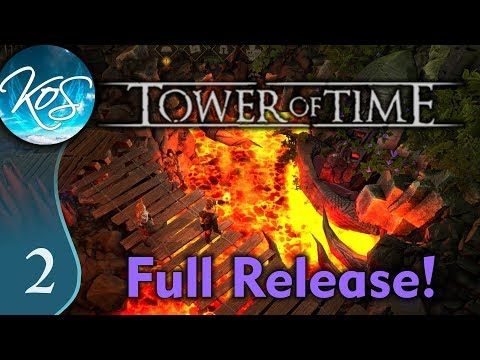 Tower Of Time Ep 2: GIANT ORC SMASH! - Full Release, Tactical RPG, Lore - Let's Play, Gameplay