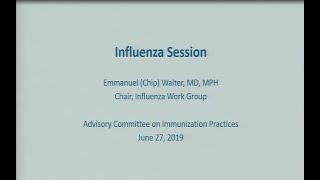 June 2019 ACIP Meeting - Agency Updates; Influenza Vaccines