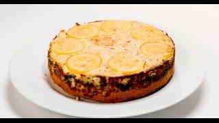 Пирог с пикшей, курицей и шампиньонами | Теле-теле-тесто