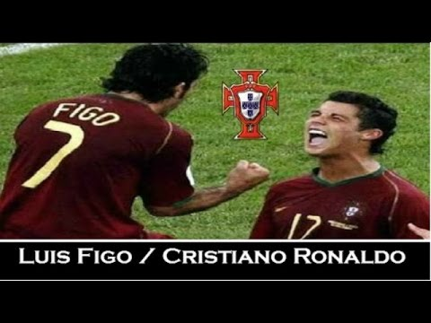 Luis Figo & Cristiano Ronaldo - Euro 2004 - Legends | HD Travel Video