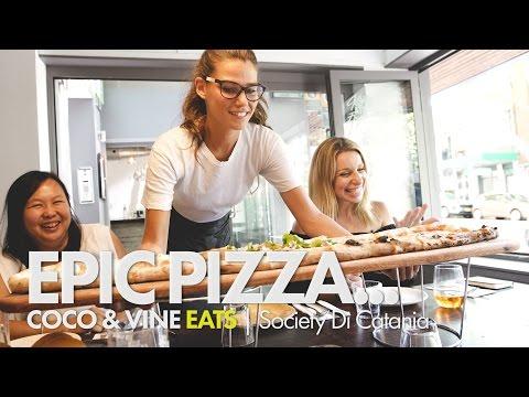 Sydney's Best Pizza Places - Society Di Catania - Coco & Vine Blog
