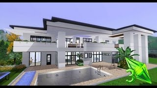 The Sims 3 House Designs - Modern Elegance