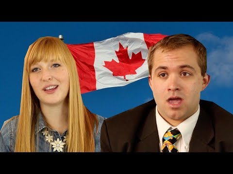 Canadian English, explained by Americans (funny)
