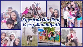 #DIML | Coorg - Mandalpatti View Point | Trekking | Kids Fun | AshaSudarsan Telugu Vlogs