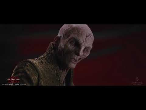Star Wars: The Last Jedi - Creating Supreme Leader Snoke [Andy Serkis performance with audio]