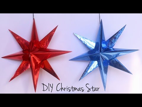 How To Make Christmas Star | Paper Star | Christmas Decorations with Paper