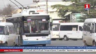 Троллейбусы вышли на маршрут «Симферополь-Перевальное»(, 2015-12-16T08:17:07.000Z)