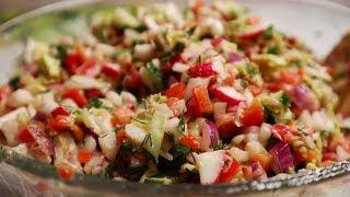 Быстро и вкусно | Салат для похудения, можно есть каждый день и ночь и не толстеть