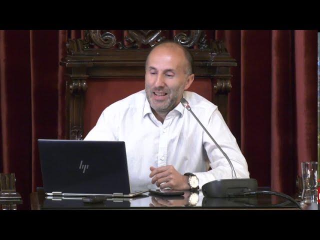 Jácome desvela la trama en rueda de prensa 09/09/2020