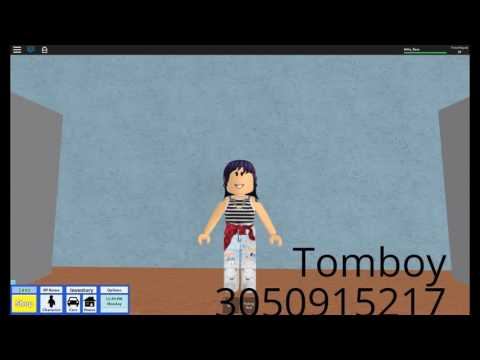 Roblox Clothes Ids Tomboy Roblox Girl Clothing And Accessories Ids Youtube