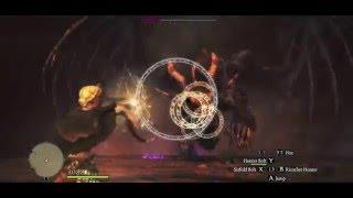 Solo Magick Archer vs Ur-Dragon (offline), PERFECT ! B