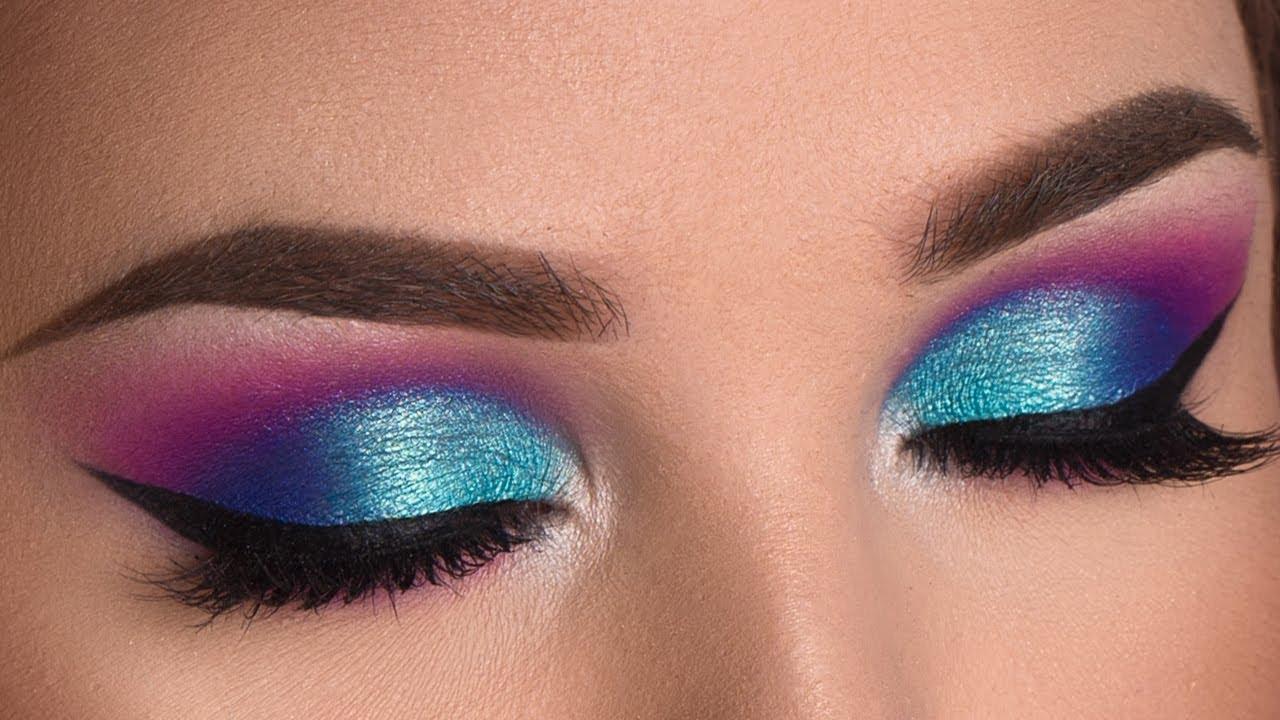 Colorful Summer Smokey Eye Makeup Tutorial Jaclyn Hill X Morphe
