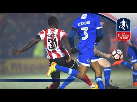 Lincoln City 3-2 Oldham Athletic - Emirates FA Cup 2016/17 (R2) | Goals & Highlights