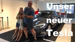 Wir fahren jetzt einen neuen Tesla Model S 75D . Übergabe, Preis, Mängel