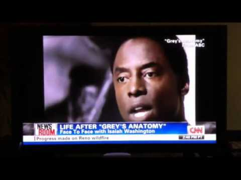 CNN Newsroom with Isaiah Washington Area Q