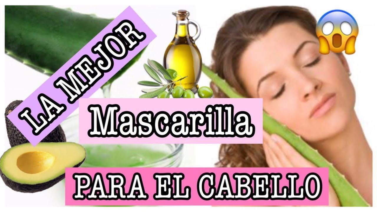 La Mejor Mascarilla Para El Cabello Con Sabila Aceite De Oliva Lismi Rodriguez Youtube