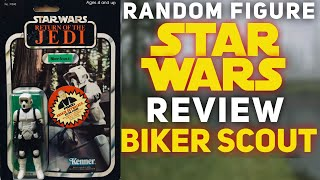 Biker Scout: Monday STAR WARS Figure Review