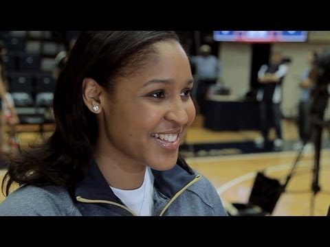 Maya Moore Practices in D.C. - B-Roll Package