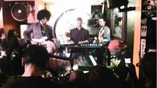 Kaidi Tatham - Organic Juggernaut - Live @ Jazz Re:freshed, Mau Mau Bar, London 25.08.2011