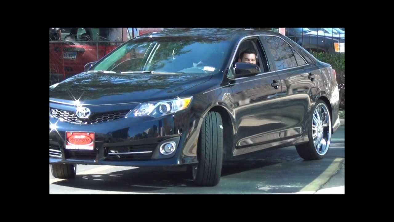 Deonte Toyota Camry On 22 S 2012 Youtube