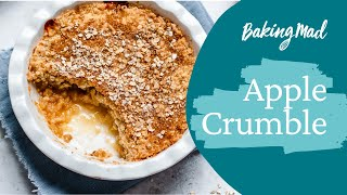 How to make apple crumble   Baking Mad