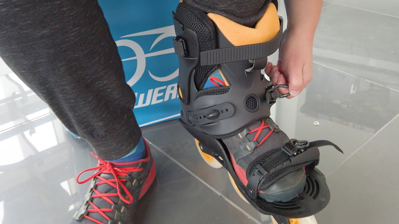 Powerslide Doop Skates Review - Rollerblades You Can Wear With Shoes!