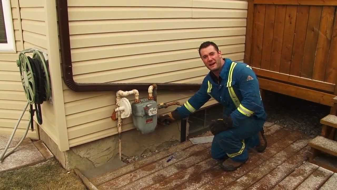 Running Gas Line To Fireplace Gas Lines Outdoors Calgary 403 815 6507
