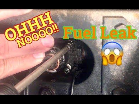 rv fuel leak! repairing fuel pressure regulator leak on 1987 chevy p30  motorhome