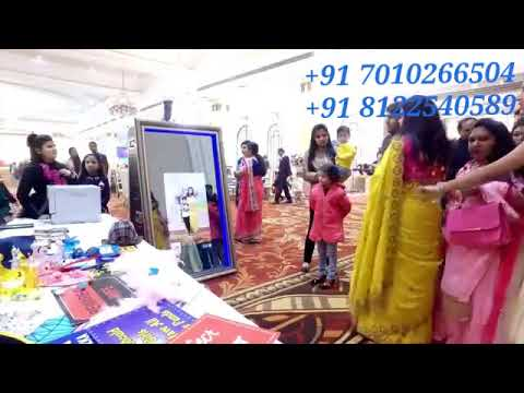 Magic Selfie Mirror Photo Booth Wedding Marriage Reception Corporate Event Digital India 81225 40589