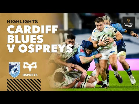3 Minute Highlights: Cardiff Blues v Ospreys | Round 10 | Guinness PRO 14 2020/21