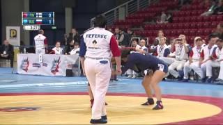 SAMBO WOMAN WC 2016 68kg  YLINEN JOHANNA FIN   MOKHNATKINA MARINA RUS