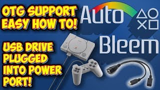 AutoBleem OTG Support For PlayStation Classic! Easy How To Guide!