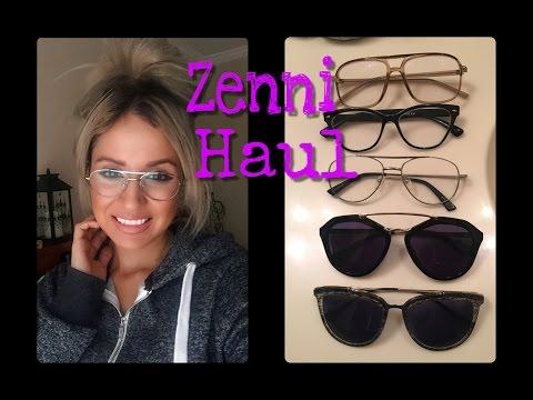 e5865497ba Zenni Optical haul review - YouTube