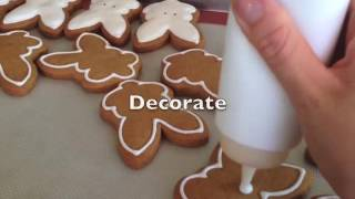 What it takes to make a gingerbread