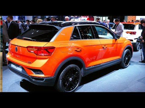 Главный конкурент Creta VW T Roc, а также новый Polo Франкфурт 2017