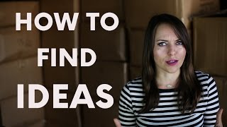 2. How to find ideas. | Moosh Walks Journey with Olga Kay