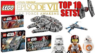 Top 10 LEGO Star Wars The Force Awakens Sets!