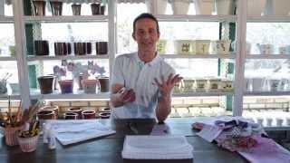 Decupagem com retalhos de tecido – Marcelo Darghan