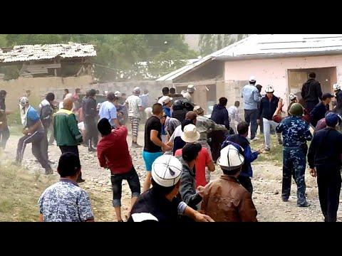 Конфликт на границе Кыргызстана и Узбекистана. Как это было