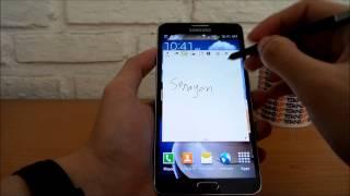 Antarmuka Galaxy Note 3