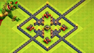 "Clash of Clans - ""THE LAST CANNON!"" FULL GOLD UPGRADE! Big Loot Farming with Balloonion + 3700 Cups!"