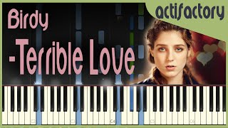 Birdy - Terrible Love | Synthesia Version | actifactory