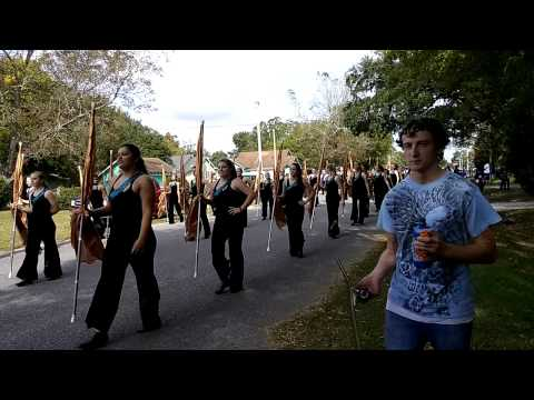 Foley High School Band 2014 Veteran's Day Parade
