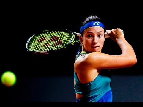 2017 Porsche Tennis Grand Prix First Round   Anastasija Sevastova vs Sam Stosur   WTA Highlights