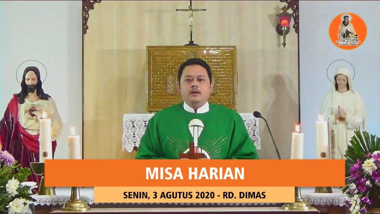 MISA HARIAN SENIN, 3 AGUSTUS 2020 PAROKI ST ALBERTUS DE TRAPANI MALANG