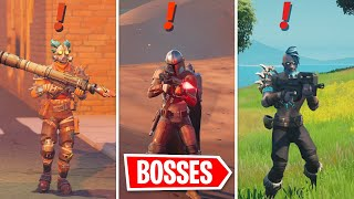 I Eliminated all Season 5 BOSSES In Fortnite