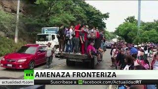 Trump amenaza con enviar tropas para parar la caravana de migrantes de Honduras