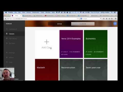 Verso: Using VersoApp to activate student learning