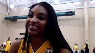 Italee Lucas - 2011 Tulsa Shock Media Day