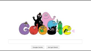 Google Doodle - May 19 2015 - 45th Anniversary of the publishing of Barbapapa